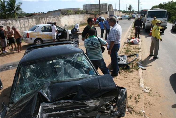 Acidente com vítima fatal na estrada da Redinha