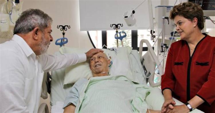Alencar deixa uti do hospital s rio liban s e - Hospital sirio libanes sao paulo ...
