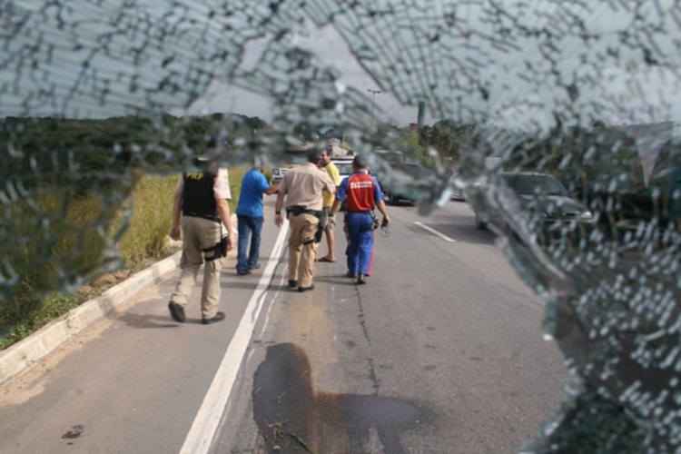 O trecho onde ocorre o maior número de acidentes é na BR-101 Sul, entre Natal e São José de Mipibu