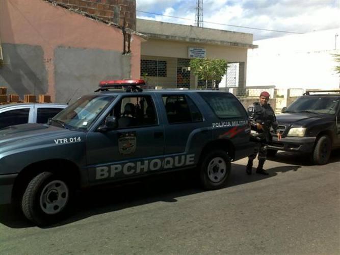 Policiais estão em diligência no município paraibano de Mamanguape