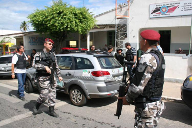Polícia faz diligências em Mamanguape (PB) à procura dos assassinos do PM, ocorrido na manhã de ontem, em Baía Formosa (RN)