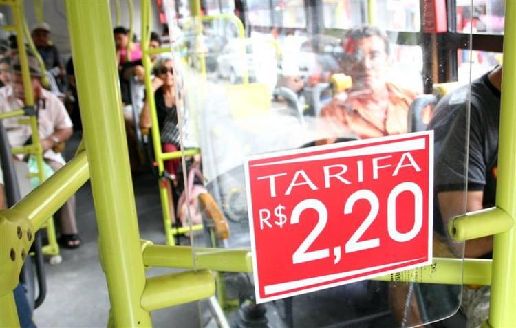 O reajuste de 10% na tarifa de transporte urbano de Natal – que entra em vigor hoje - é o sexto maior registrado entre as 12 cidades brasileiras.