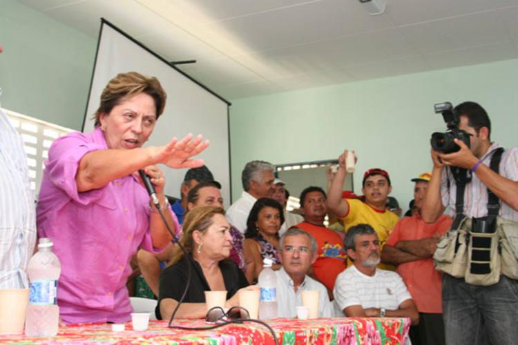 Governadora Rosalba Ciarlini garante que Jucurutu é prioridade e irá pedir ajuda ao governo federal