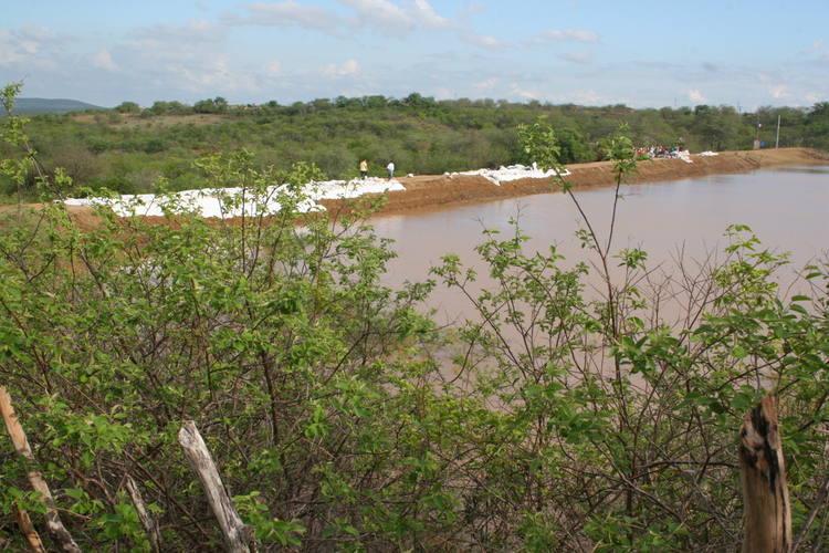 Açude Guarita, em Tangará
