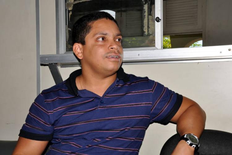 Luiz Carlos se apresentou na Decap na manhã desta segunda e explicou o sumiço
