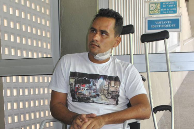 Marcos Gurgel pede dinheiro emprestado para fazer cirurgia