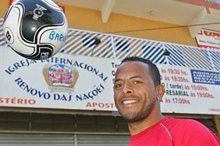 André Neles foi bem avaliado pelo treinador Dado Cavalcanti, ele será o homem de referência na área