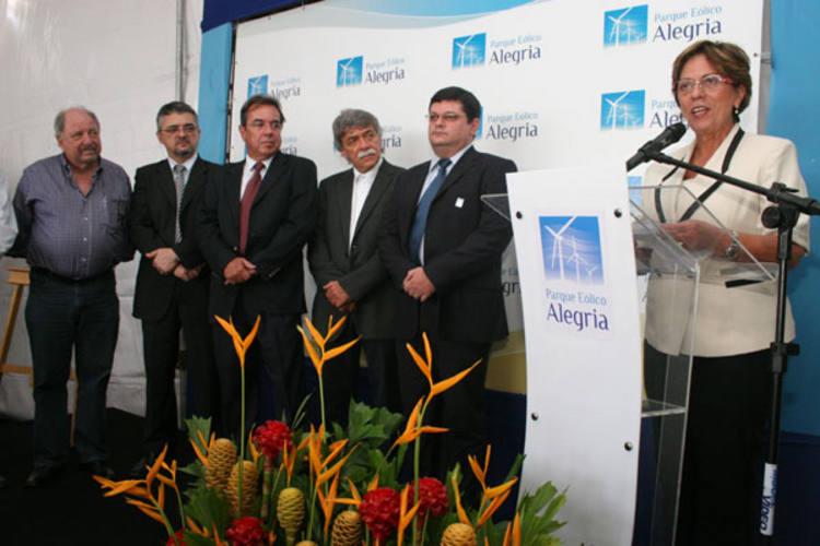 Governadora Rosalba Ciarlini esteve presente na cerimônia