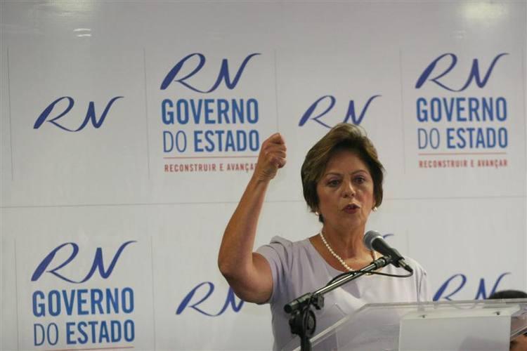 Rosalba voltou a criticar administração anterior