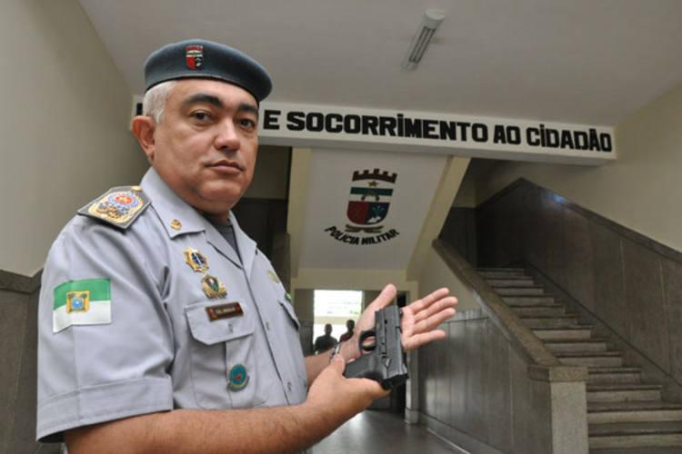 Cel. Araújo acredita que campanha de desarmamento contribui para queda no número de crimes