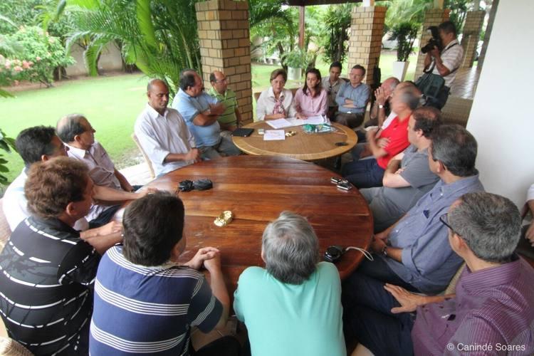 Reunião da governadora sobre o JL