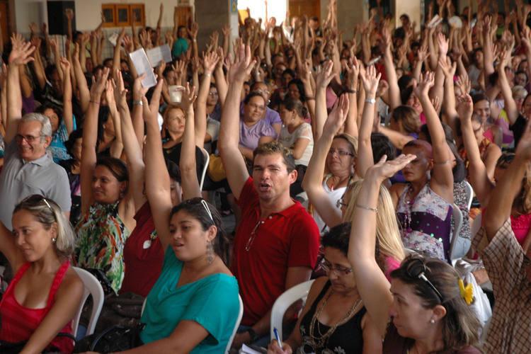 Movimento iniciado pelos professores da rede estadual no início de março, em Natal, deve atingir também as escolas municipais
