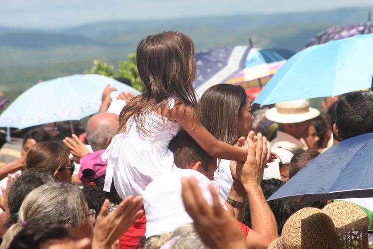 Missa de Romaria no Santuário de Santa Rita de Cássia, em Santa Cruz