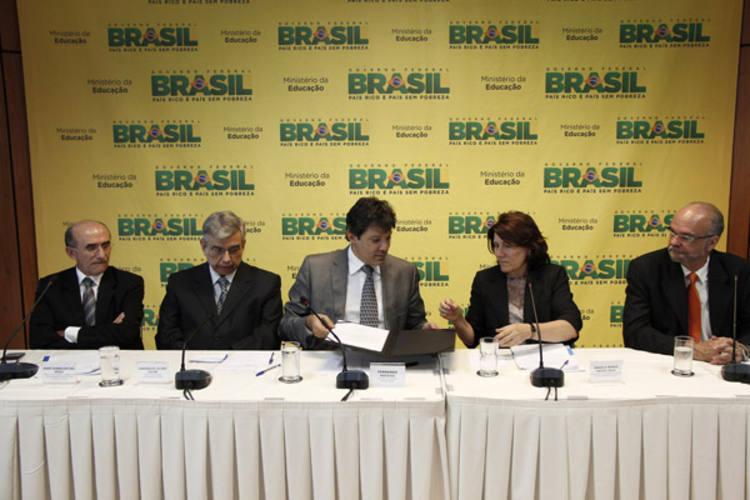 Posse da nova reitora foi realizada ontem, em solenidade no Ministério da Educação, em Brasília