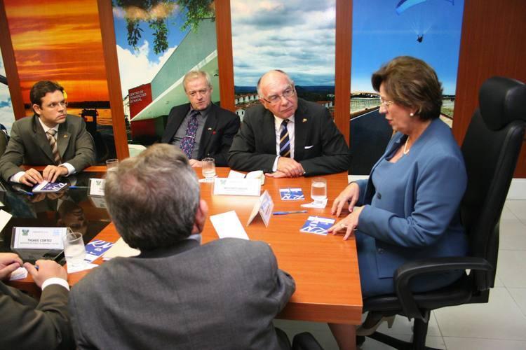 A visita da comitiva alemã à governadora antecede a vinda de uma delegação de investidores do país