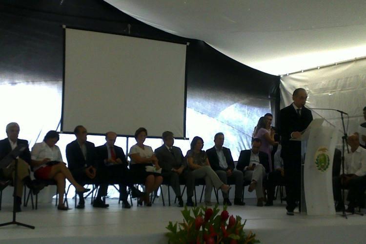 Solenidade de inauguração de novo prédio do Hospital Universitário Onofre Lopes  ocorreu hoje pela manhã