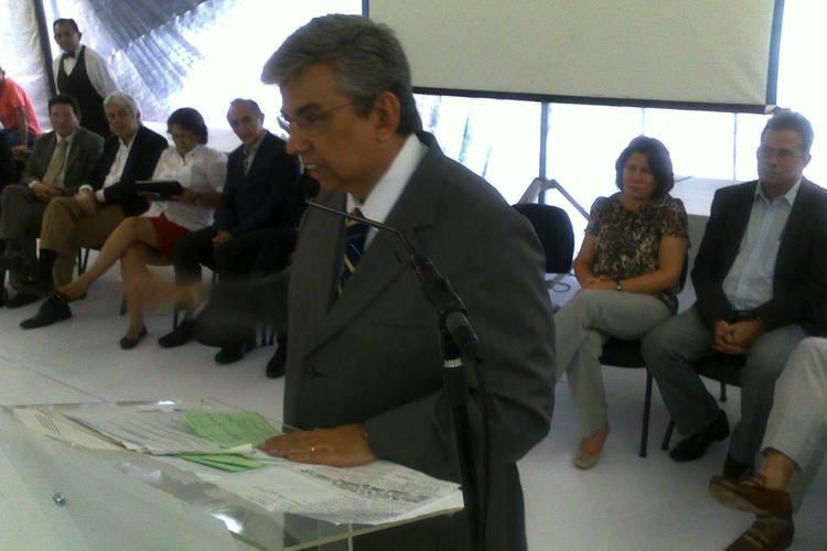 Ministro da Previdência Garibaldi Alves Filho esteve presente e discursou durante a solenidade