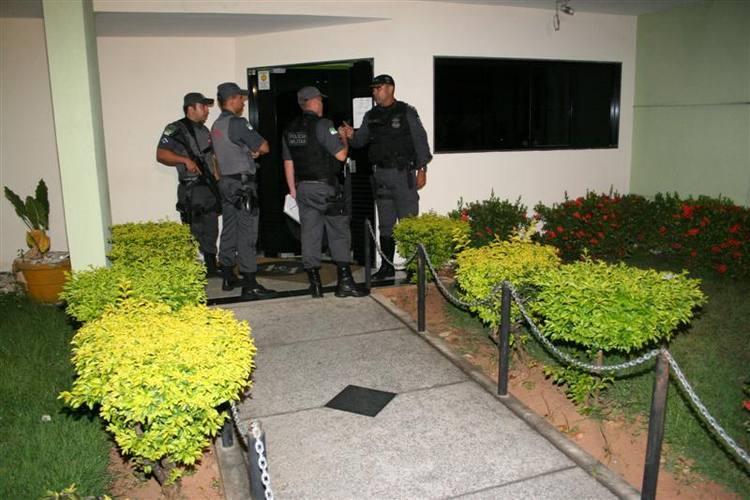 Policiais cercaram escritório onde advogado foi assassinado