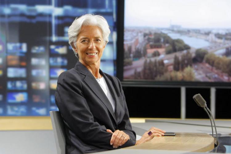 Lagarde é ministra na França