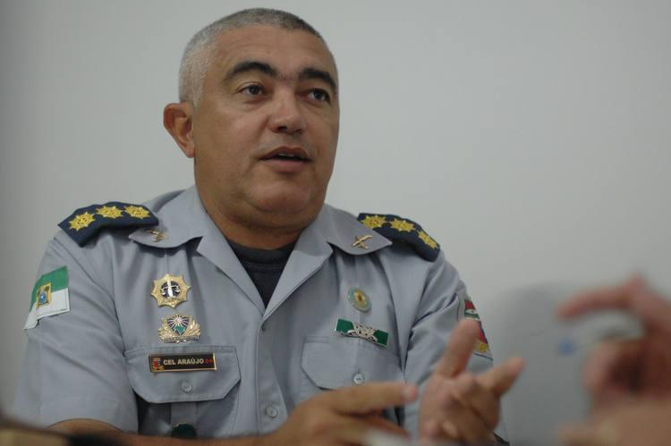 Para Cel. Araújo, crimes estão relacionados com tráfico de drogas