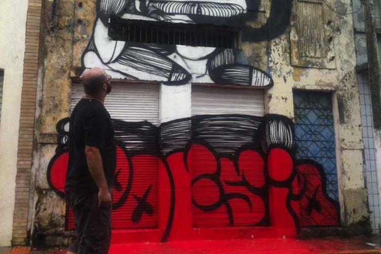 Edição dedicada às artes visuais foi marcada por grafitagens e intervenções