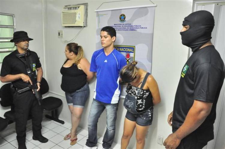 Robinson Nascimento foi preso na tarde desta sexta-feira junto com a esposa e a irmã
