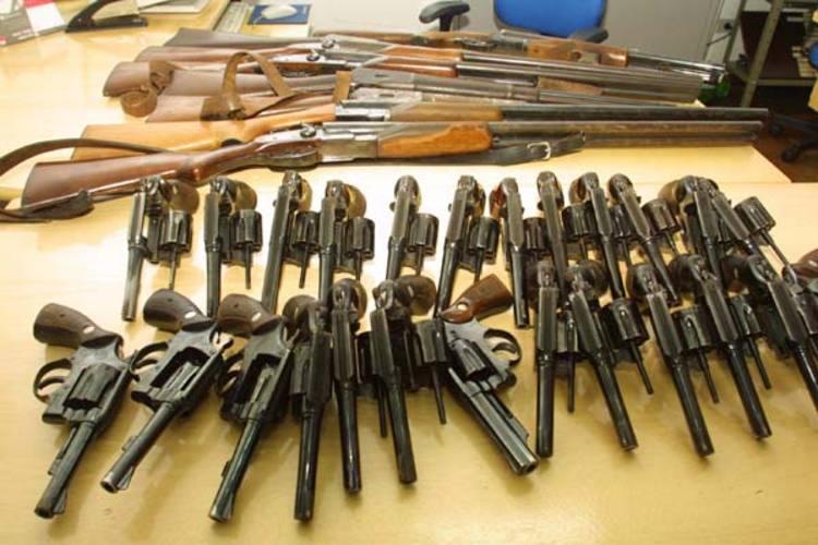 Em todo o país,  mais de 9 mil armas já foram recolhidas nos últimos dois meses. No RN, campanha só inicia no final de agosto