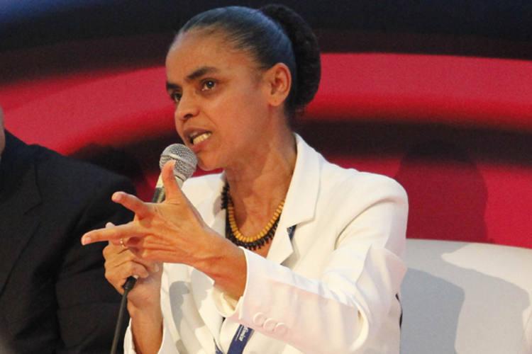 Marina Silva discute a criação de um movimento suprapartidário em defesa da sustentabilidade