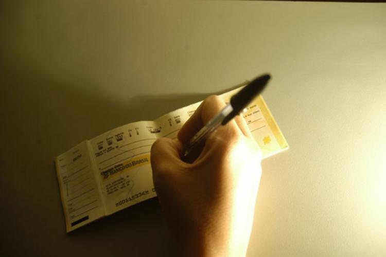A inadimplência com cheques foi uma das que mais aumentaram