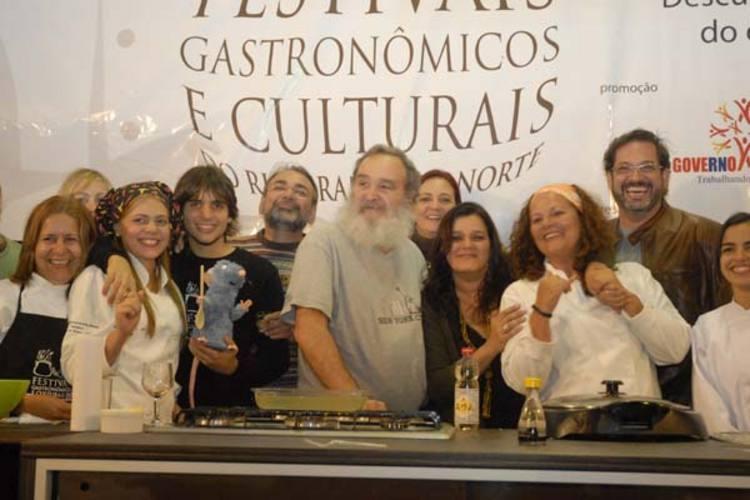 Chefs do RN, produtores e convidados se reúnem no festival