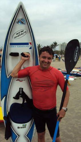 Giba Filgueiras é o único brasileiro no Mundial de Waveski