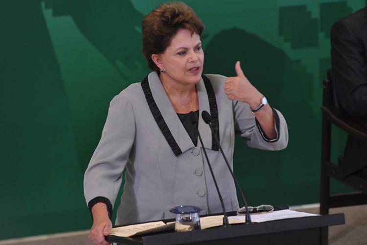 Presidenta Dilma Rousseff foi novamente bem avaliada