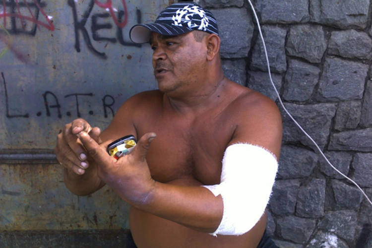 Francisco Camilo uma das vítimas da explosão na feira
