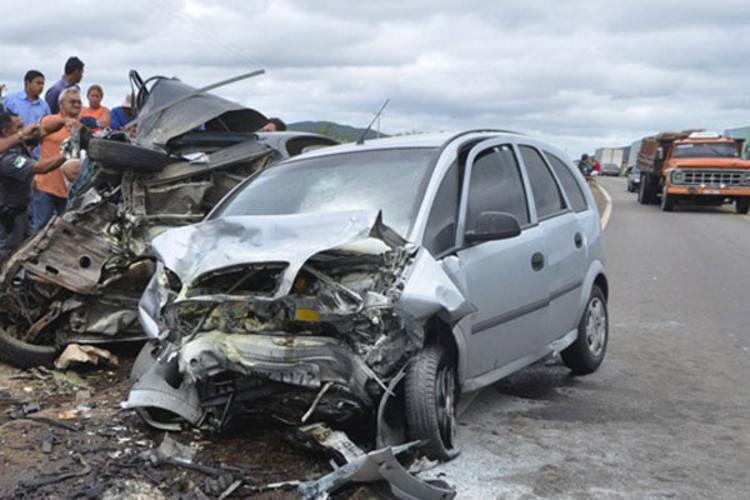Duas pessoas morrem em acidente entre Tangará e Santa Cruz