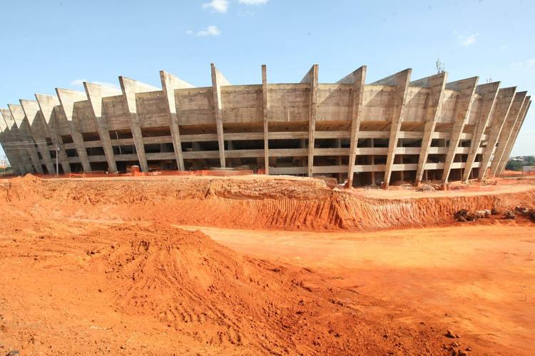Estádio do Mineirão é o único que está completamente dentro do cronograma traçado pelo Comitê Organizador Local e os mineiros apostam na organização para vencer