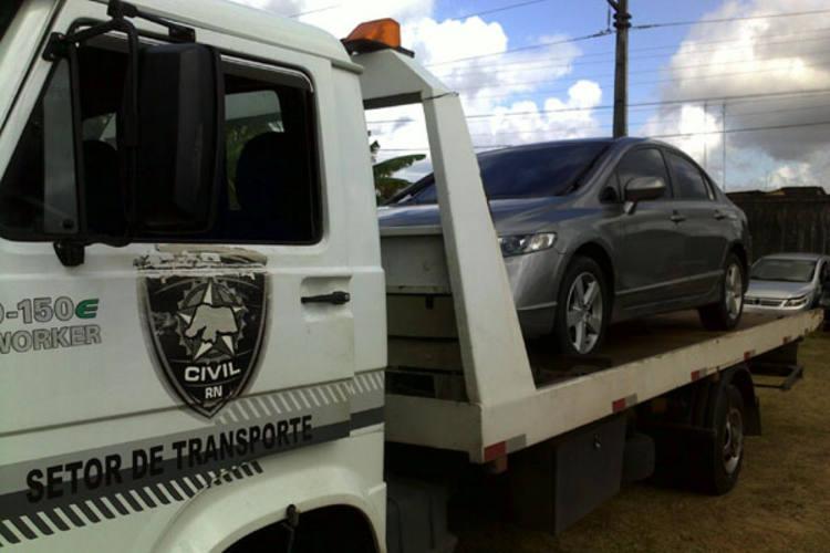 Carro utilizado na ação criminosa foi roubado em Capim Macia na semana passada