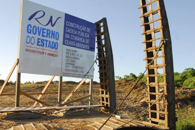 Terreno em Ceará-Mirim já está preparado para receber obra