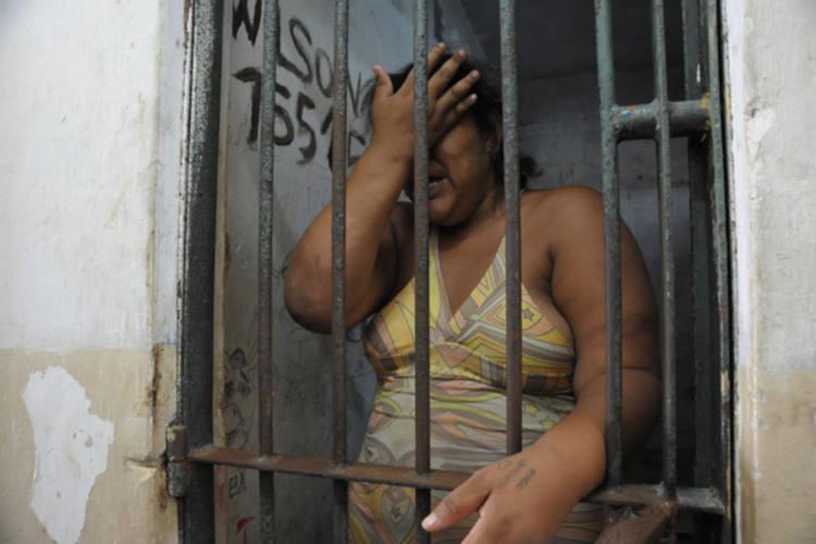 Vera Lúcia foi presa em flagrante dentro de um transporte coletivo