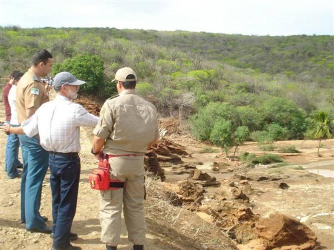 Vistoria tem o objetivo de estimular a criação das coordenadorias municipais e iniciar o mapeamento destas áreas