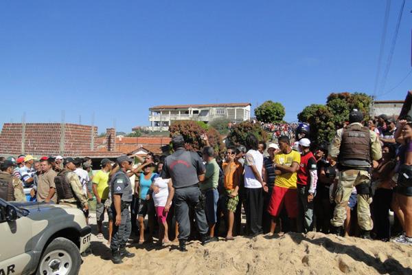 Ontem, população de Jucurutu tentou linchar acusado de matar a pequena Milena Soares