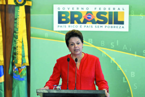 Dilma Rousseff destaca independência do Ministério Público e Judiciário preocupado com a celeridade