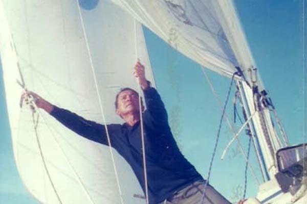 O velejador Érico Amorim conta os detalhes de sua epopeia