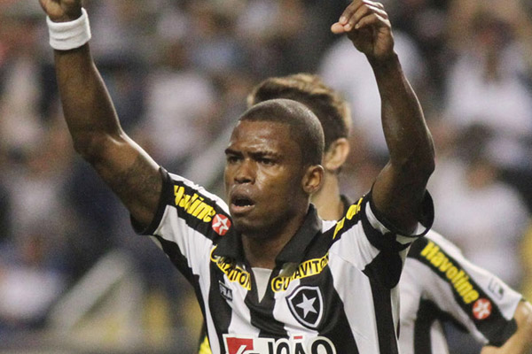 Maicosuel, do Botafogo foi um dos jogadores, além do técnico, a pregar respeito ao adversário