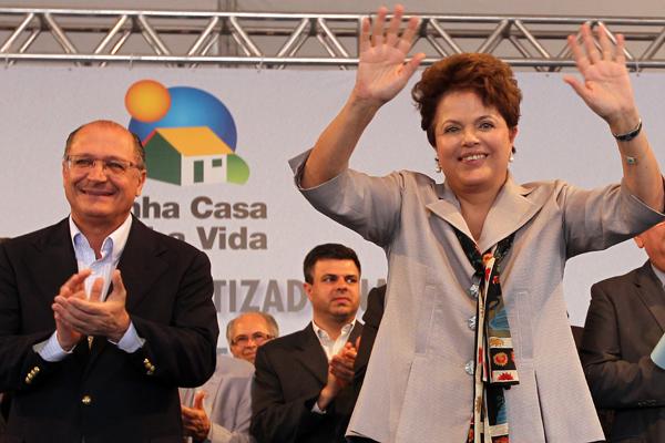 A presidenta falou sobre a crise durante entrega de casas do programa Minha Casa  Minha Vida