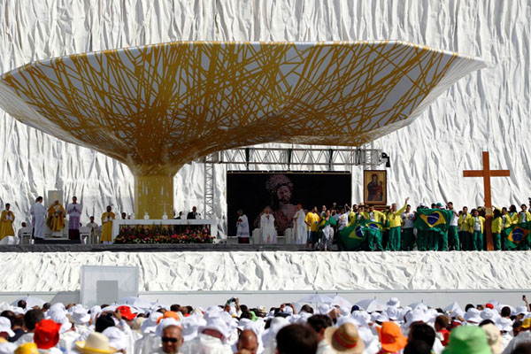 * Papa confirma Rio como sede da próxima Jornada Mundial da Juventude.