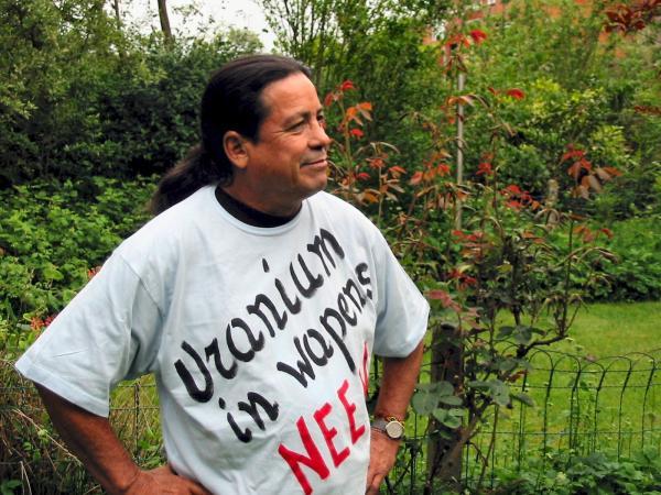 Damacio Lopez está em Natal para falar sobre os riscos da energia nuclear