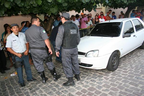 Assalto termina em tiroteio no Banco do Brasil em Parnamirim