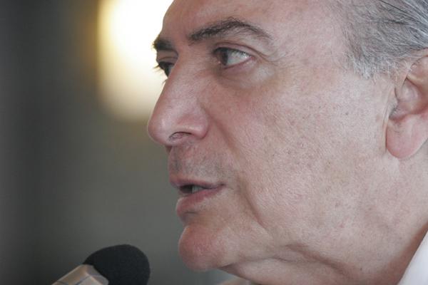 Michel Temer vai ficar durante cinco dias na praia de Graçandu