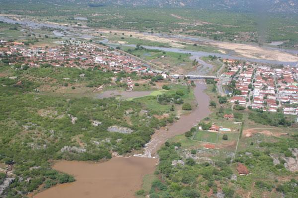 Chuvas de janeiro provocaram inundação em Jucurutu
