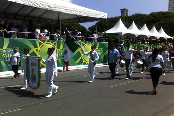 Começa desfile de 7 de Setembro